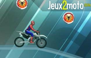 Course arctique avec spiderman - Moto spiderman jeux ...