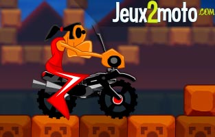 Jeu de moto cartoon