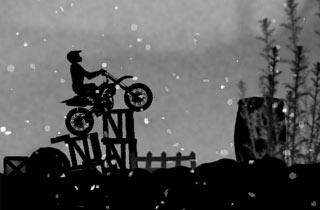jeu de moto trial nocturne